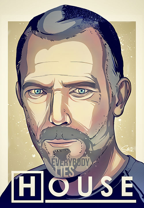 house md illustration